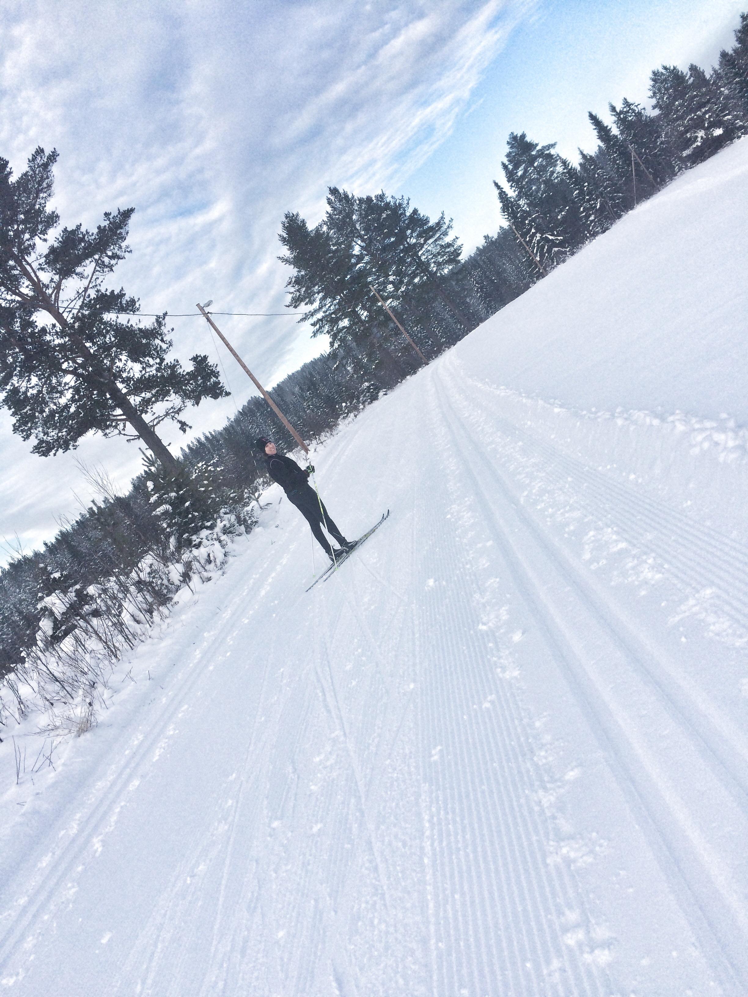 Rädd på längdskidor